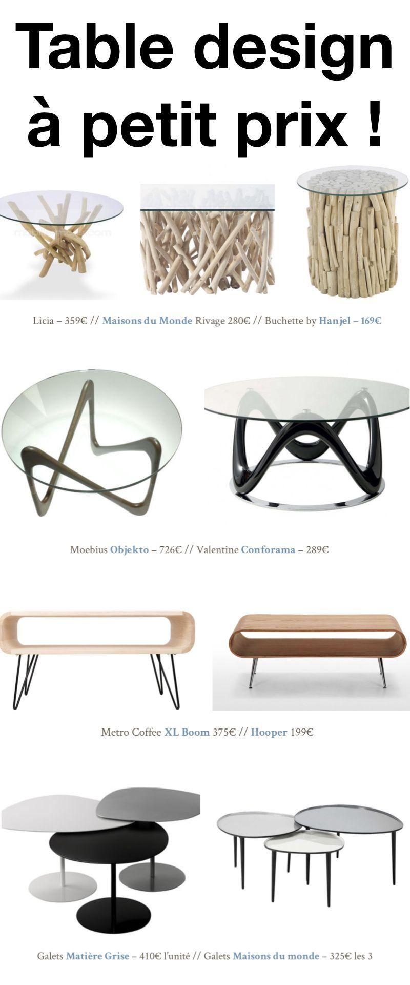 Une Table Basse La Meme En Moins Chere Clematc En 2020 Table Basse Table Basse Design Pas Cher Table Basse Bois Flotte