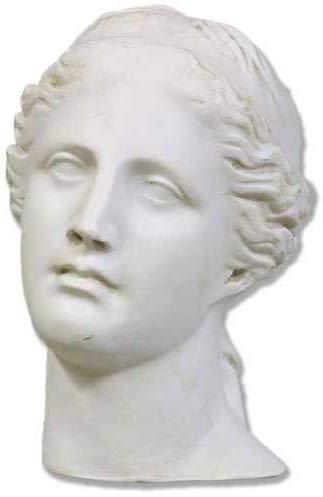 Amazon Com Xoticbrands Osht3914 Venus Antiquity Head 9 H Greek Roman Busts Home Kitchen Statue Zues Statue Roman Busts