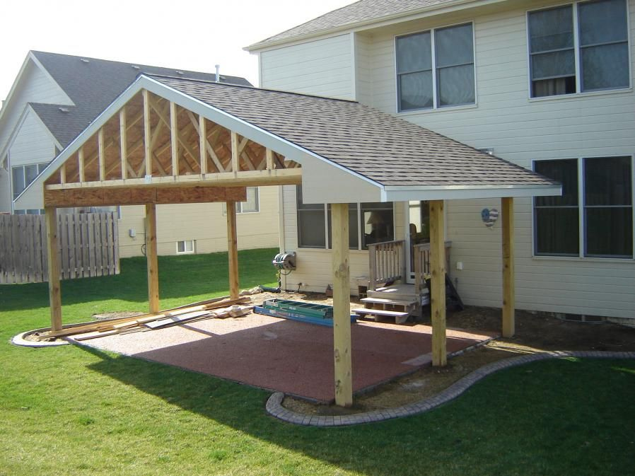 Build Cover Over Patio