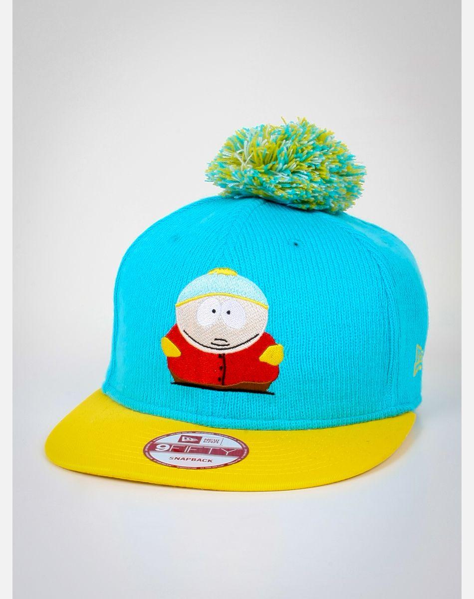 df32395dcbf South Park Cartman Bobble Game Pom Snapback Hat  18.74
