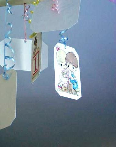 """NEW PRECIOUS MOMENTS   1-CENTERPIECE  12/"""" TALL   PARTY SUPPLIES"""