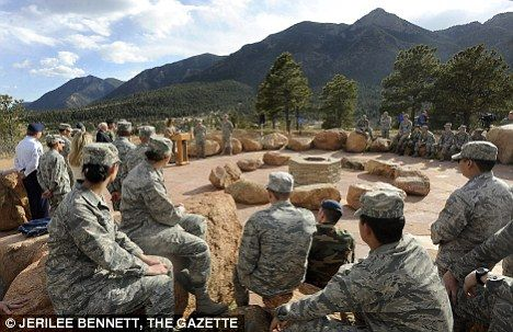 Photo of Pagans rejoice! Air Force Academy opens outdoor chapel for Wiccans, Druids and 'earth centred' worship groups