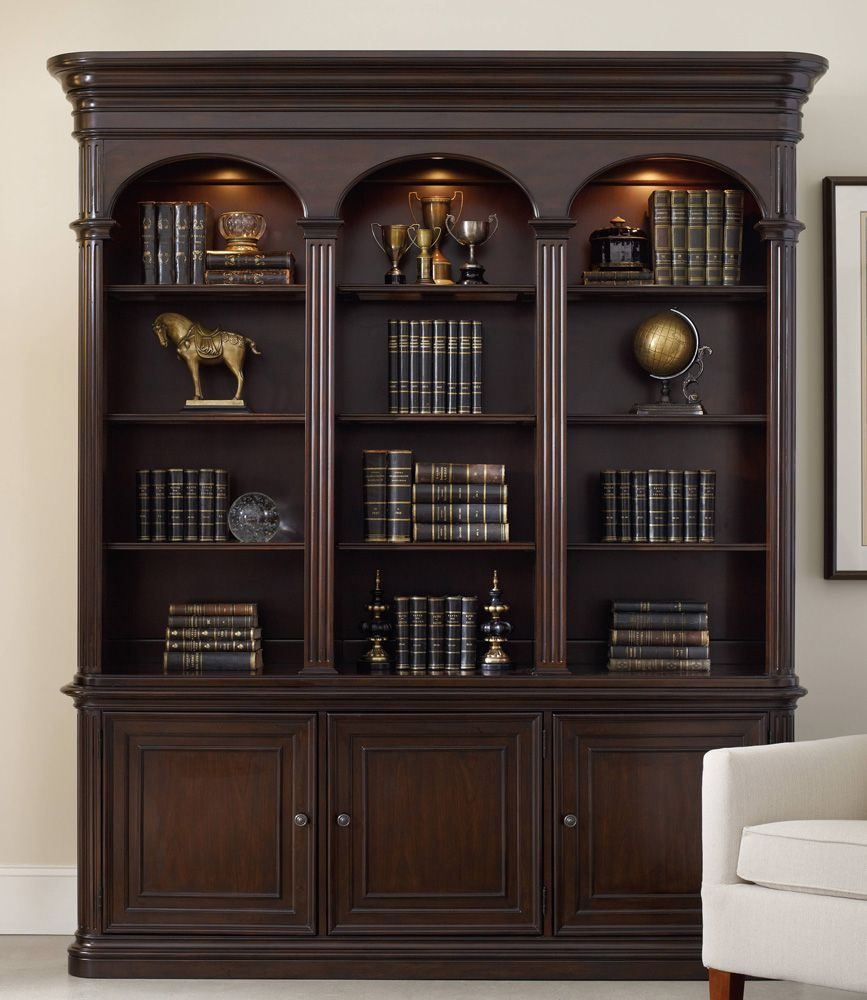 creek modular view bookcase bookcases hooker in photos showing attachment furniture wall famous accent cherry storages gallery of traditional