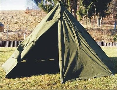 Genuine Army Surplus 2 MAN CANVAS TEEPEE TENT Rain Ponchos festival c&ing + & Genuine Army Surplus 2 MAN CANVAS TEEPEE TENT Rain Ponchos ...