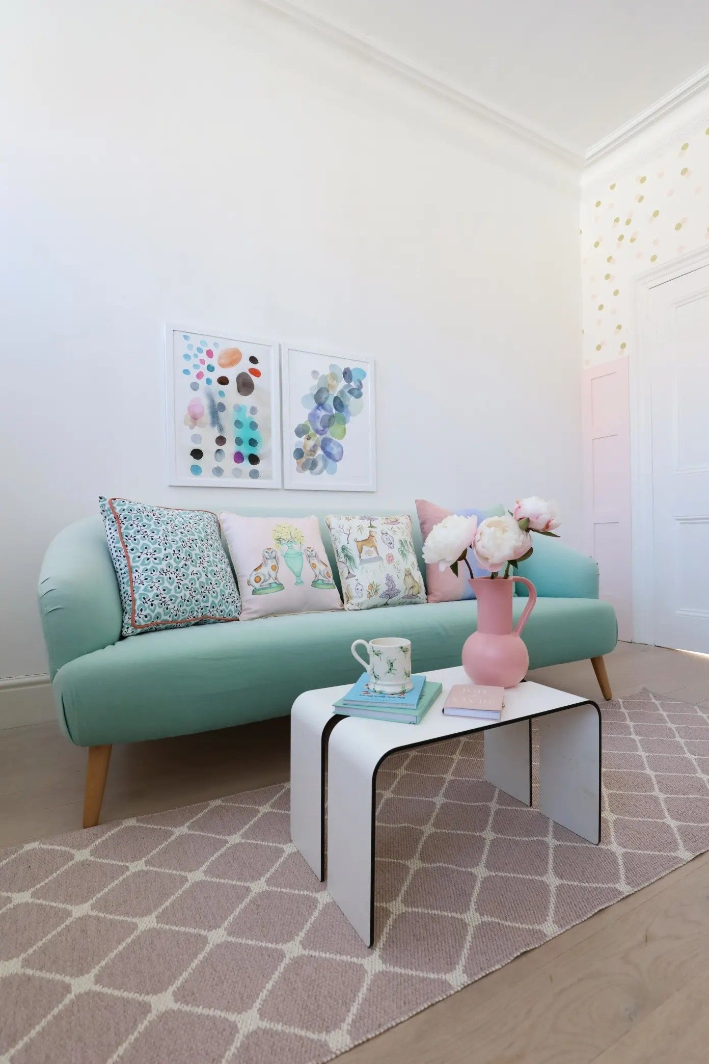 Pin by Olivia Williams on Living Room   Pastel home decor, Pastel ...