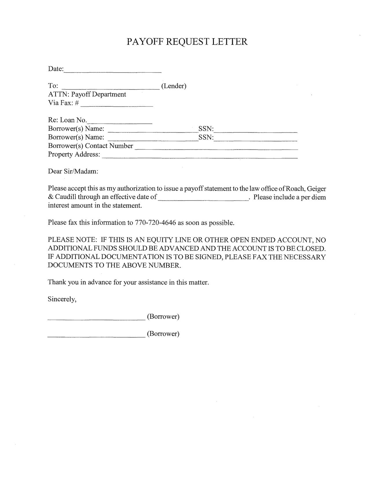 STATEMENT REQUEST LETTER - Example Letter Requesting a ...