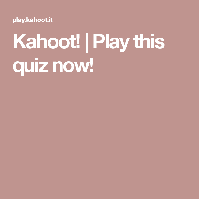Kahoot! | Play this quiz now! | Funny/So True | Play, Math