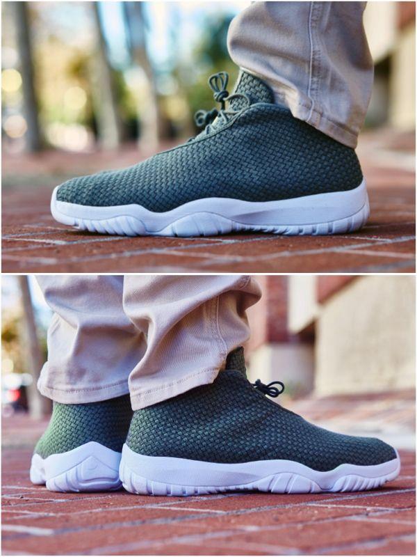 ON-FOOT LOOK // JORDAN FUTURE LOW