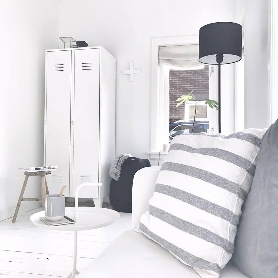 Binnenkijken bij Anja sfeerimpressie woonkamer locker | Licht en ...