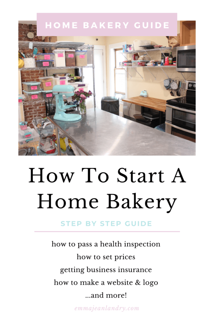 How To Start A Home Bakery | Home bakery, Home bakery ...