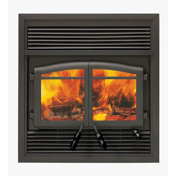 Flame Monaco XTD EPA Zero Clearance Wood Burning Fireplace 2300