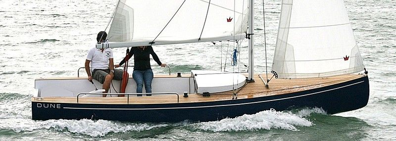 """""""Dune"""". dayboat - daysailer - voilier transportable- day ..."""