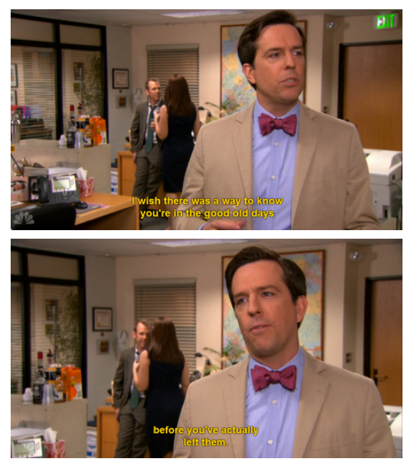 """""""The Office"""" Finale: Andy couldn't have said it better."""