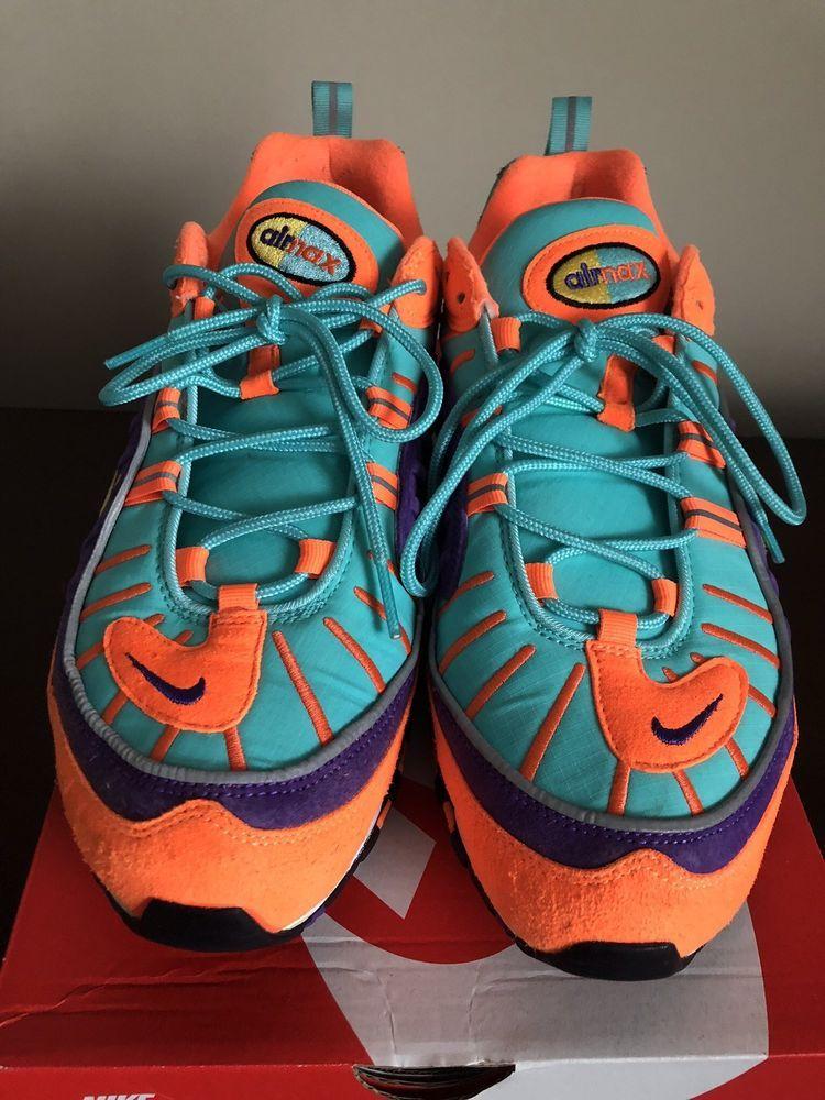 Nike Air Max 98 QS Cone Sz 12 Orange