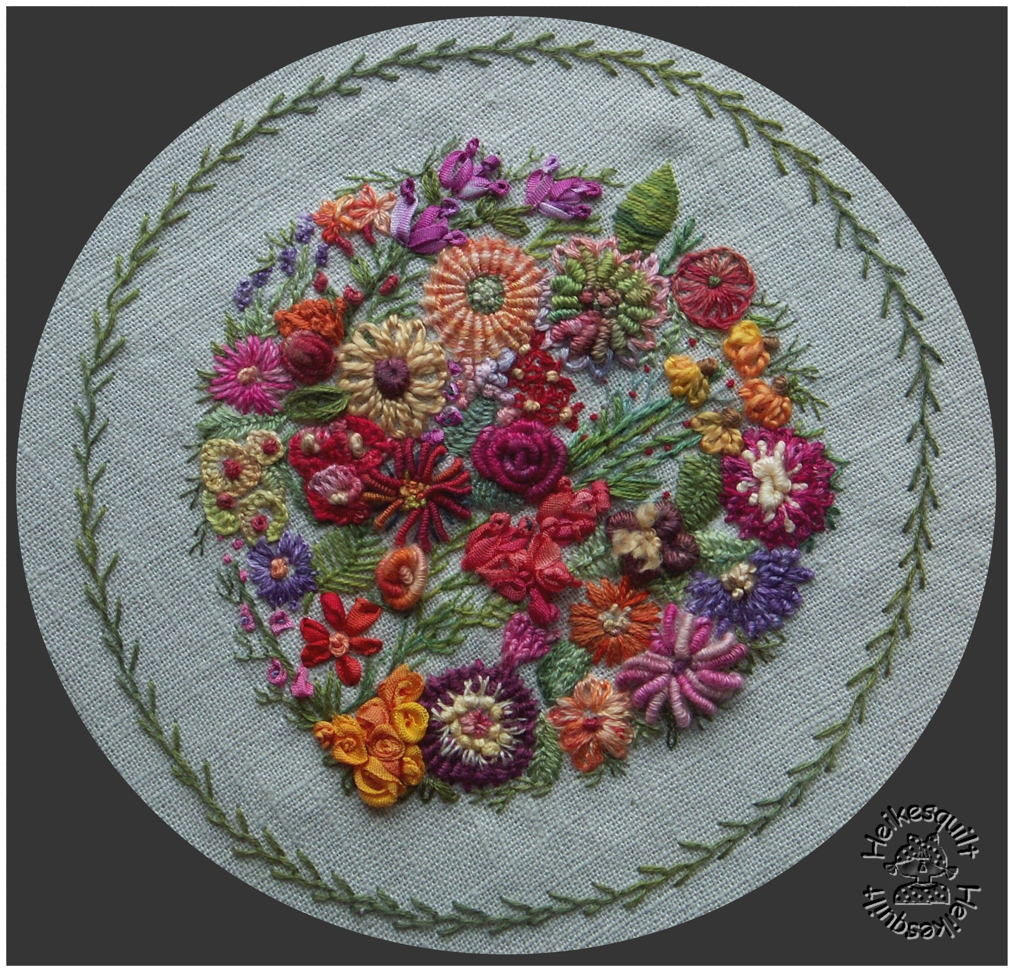 Free hand stitched embroidery designs hand embroidery ideas