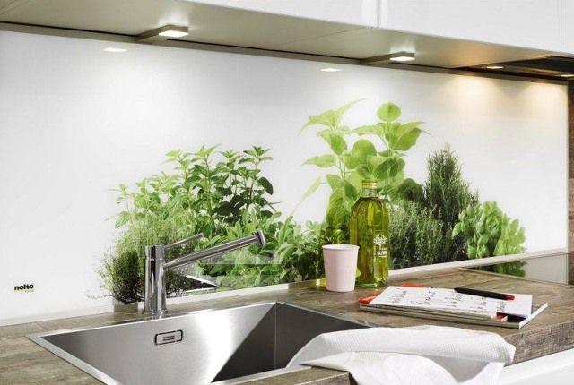 Panel szklany Herbs, Nolte Küchen, wwwnolte-kuechenpl Modne - nolte küchen bilder