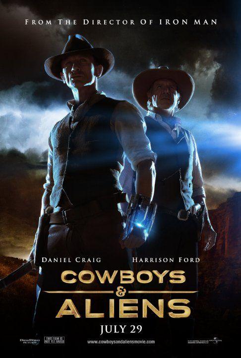 Cowboys Aliens 2011 Filme Aliens Filmes Posters De Filmes