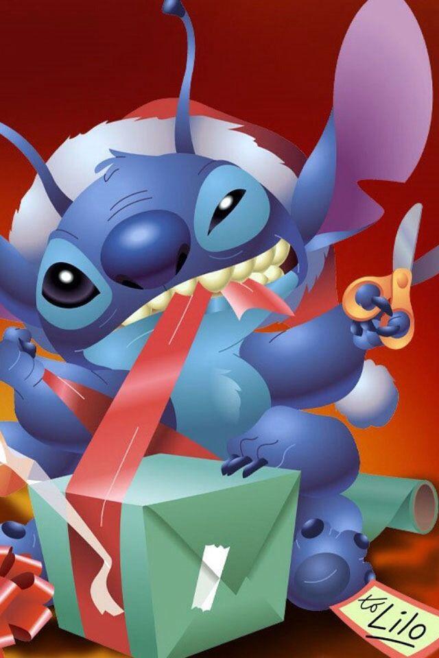 Lilo And Stitch Christmas Wallpaper : stitch, christmas, wallpaper, Tiscareño, Ohana, Stitch,, Stitch, Cartoon,, Disney, Colors