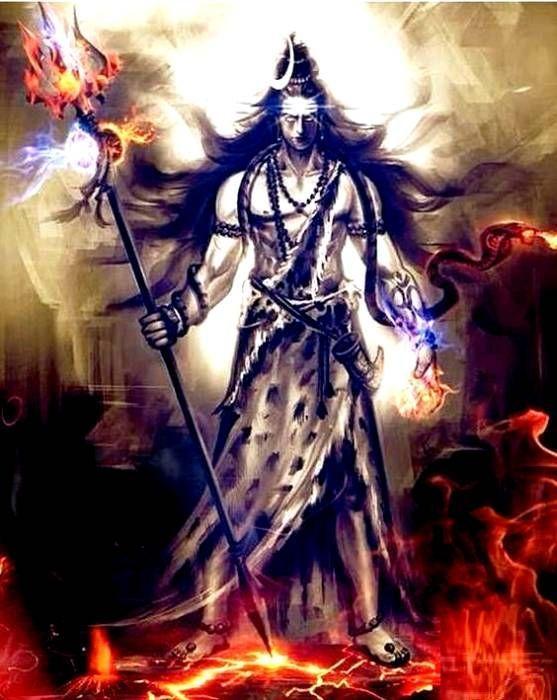 Lord Shiva Angry Hd