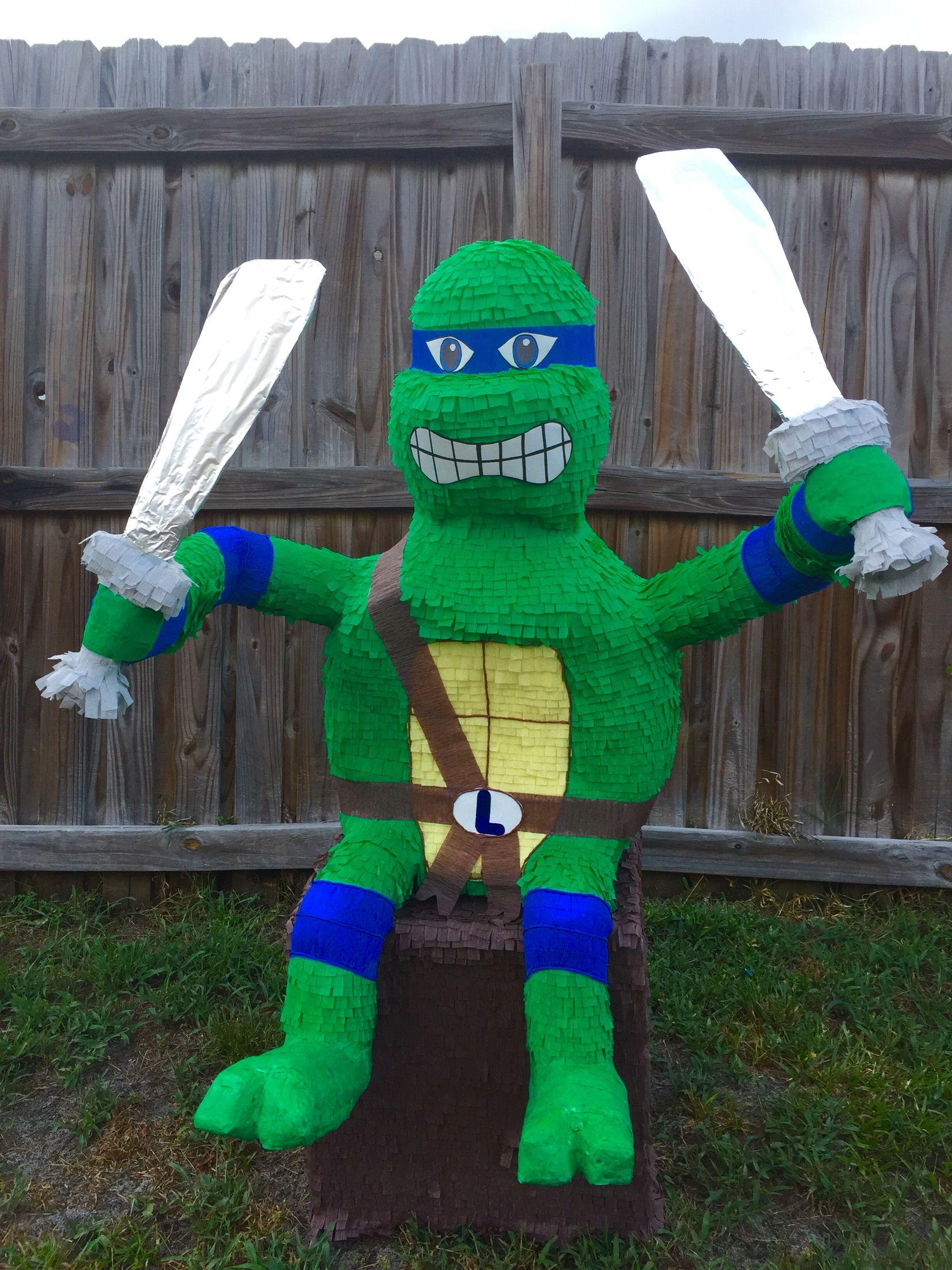 Leonardo ninja tourtle pinata