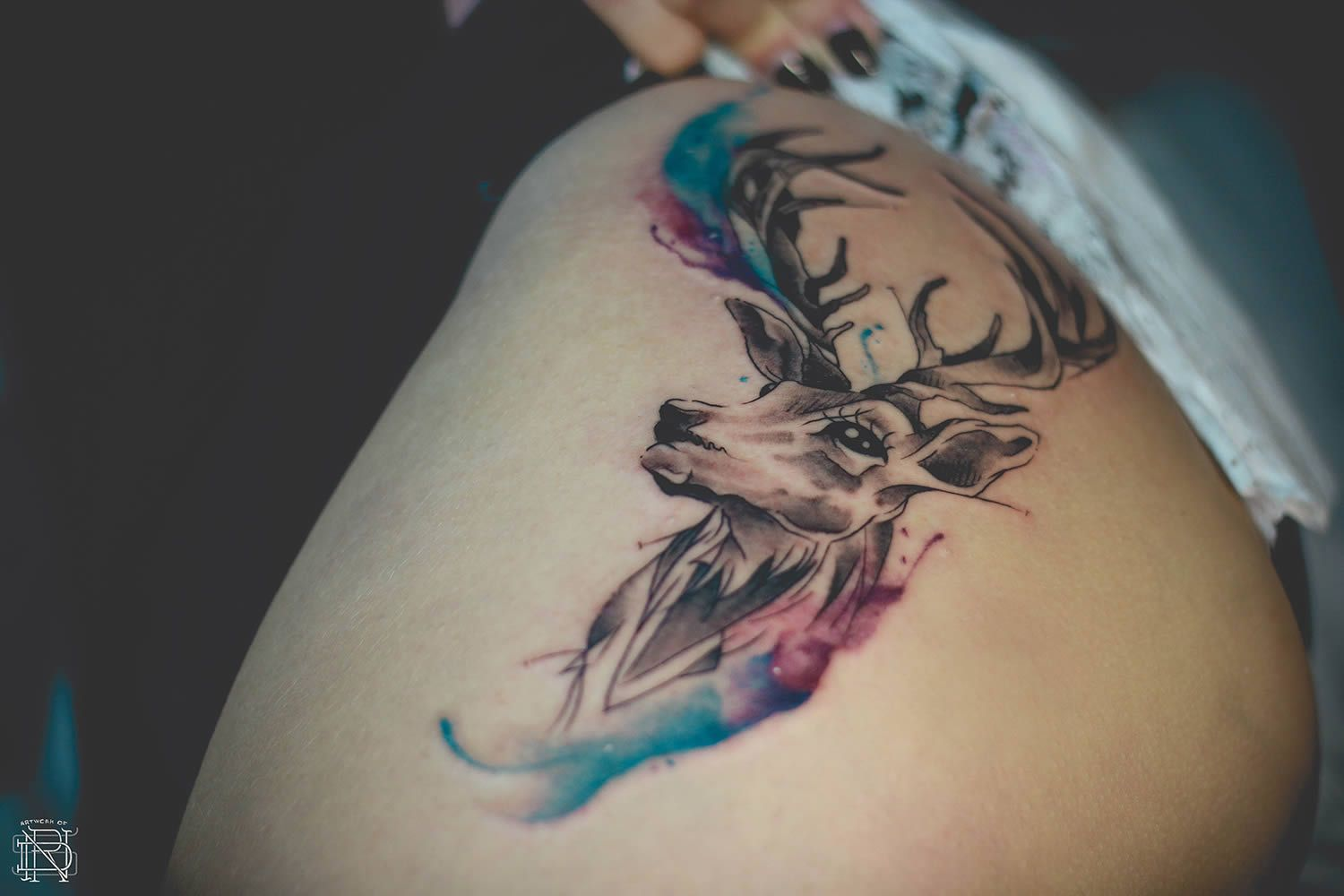 Interview With Watercolor Tattooer Dener Silva Deer Tattoo