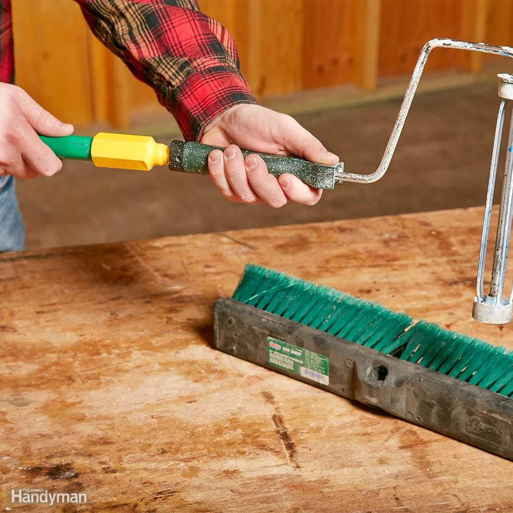 11 Little Known Painting Hacks From Our Expert Field Editors In 2020 With Images Painting Tips Push Broom Broom Handle