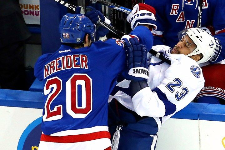 Protect a teammate or turn the other cheek? Vigneault weighsin