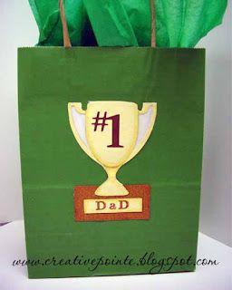 Gift Bag--SVG Trophy Card