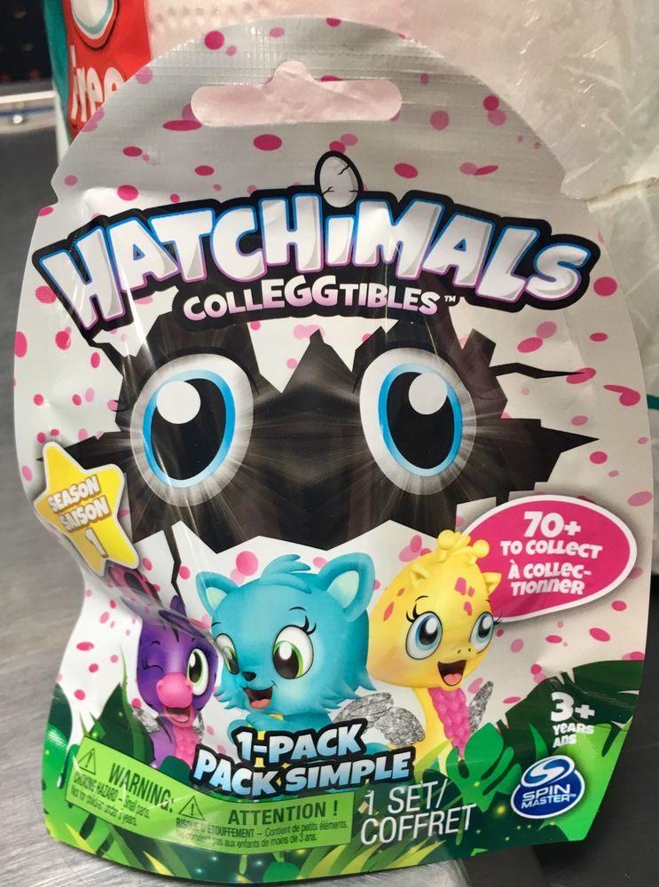 Details About Hatchimals Colleggtibles Blind Bag Season 1