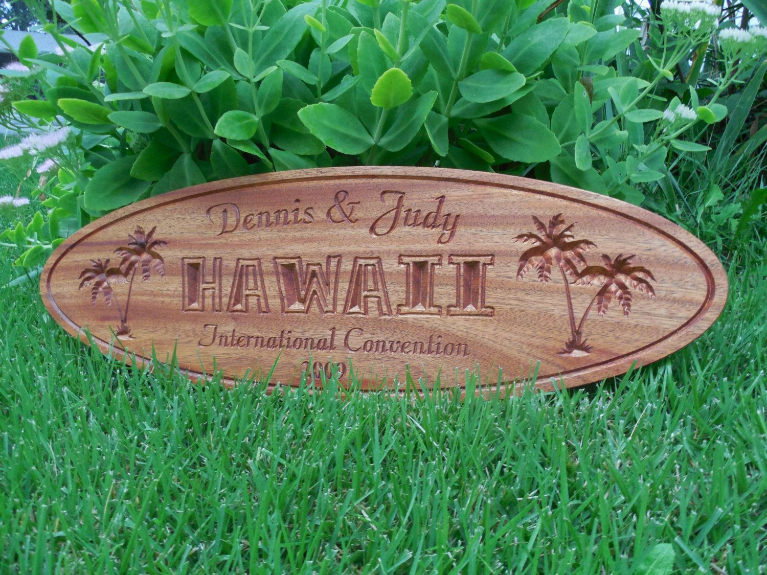 personalized family name sign tiki bar sign personalized wooden