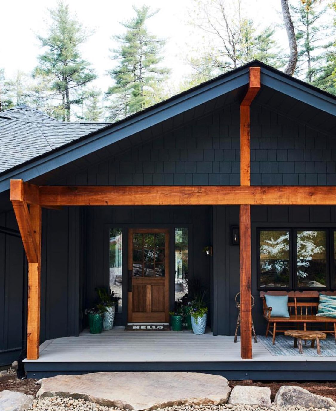 Quality Home Exteriors: Modern Mountain Home, House