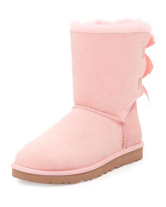 ugg australia bailey bow back short boot english primrose after rh pinterest com