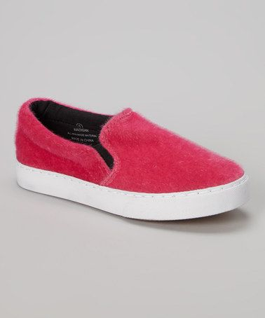 Look what I found on #zulily! Fuchsia Madigan Slip-On Sneaker #zulilyfinds