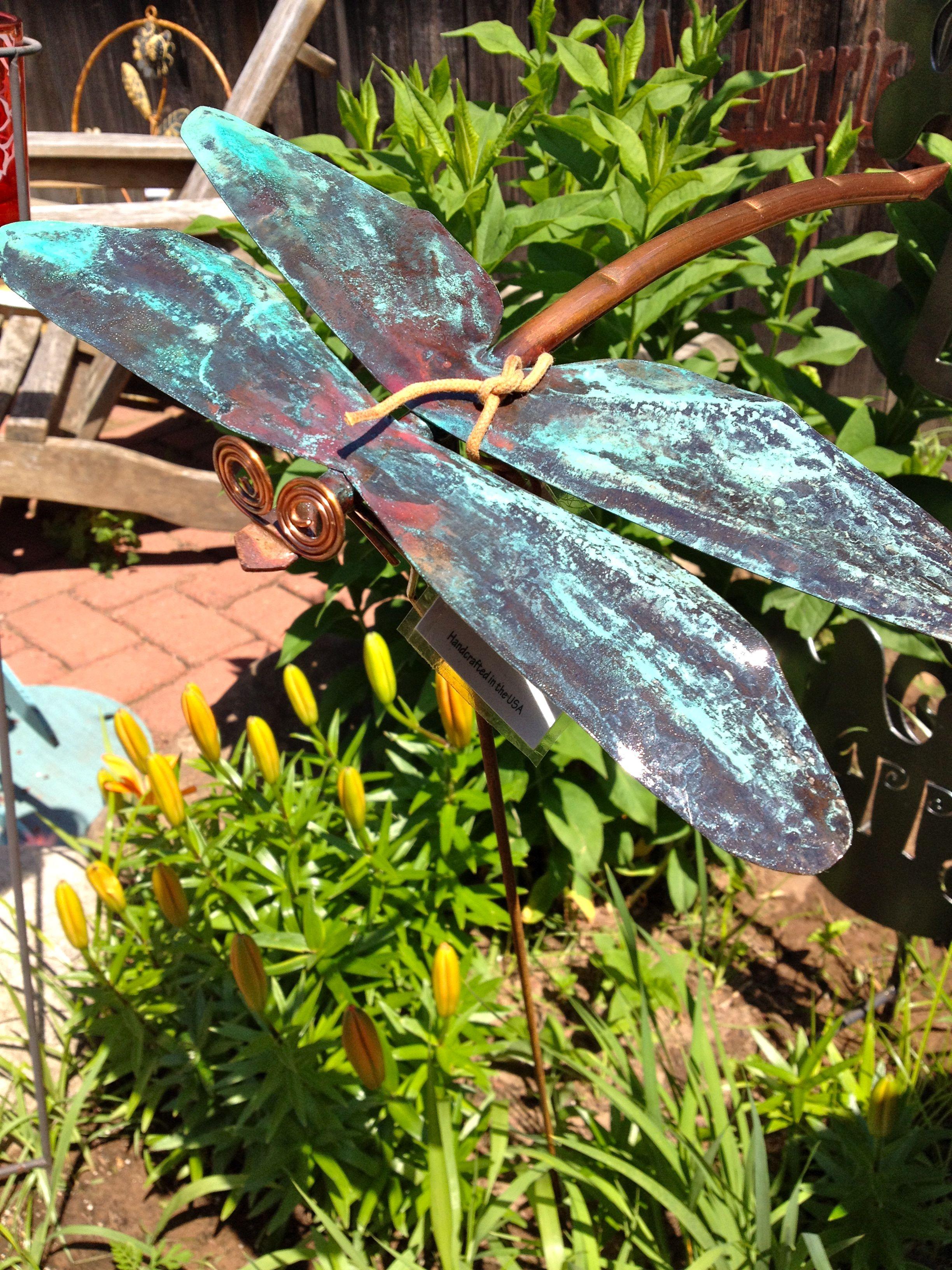 Garden art | Dragonfly 7 | Pinterest | Garden art, Gardens and ...