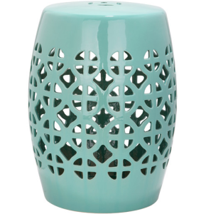 key west blue home inspiration lattice garden stools and key west