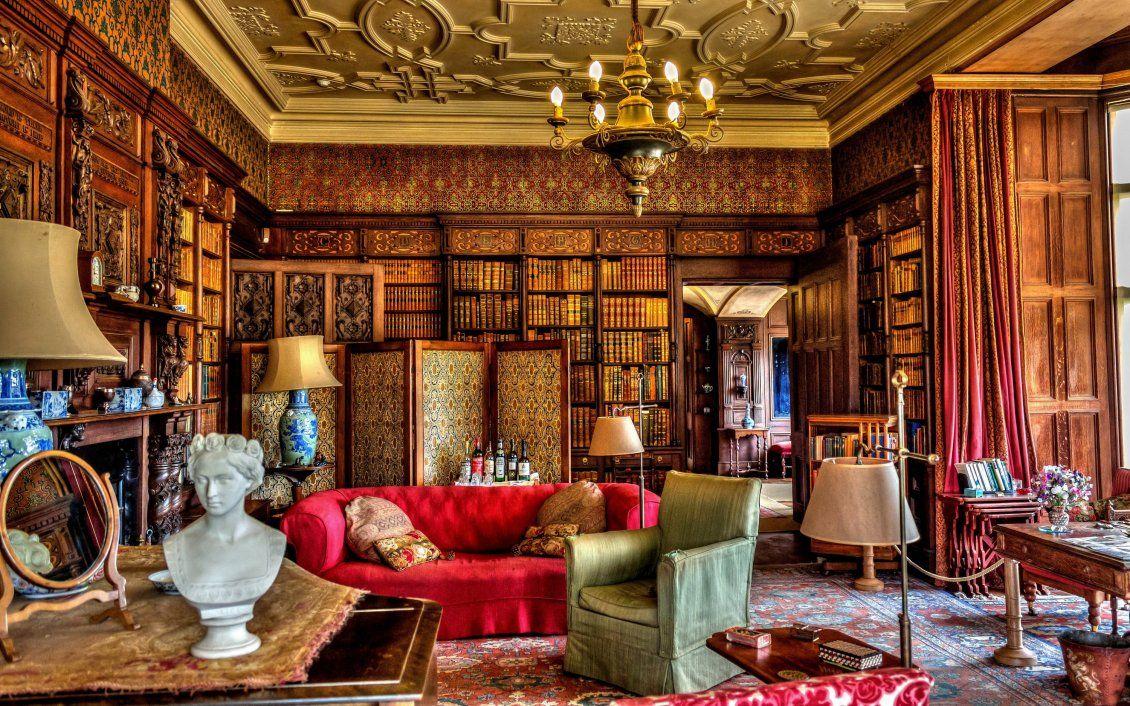 Vintage Room Design Free Image Download High Resolution