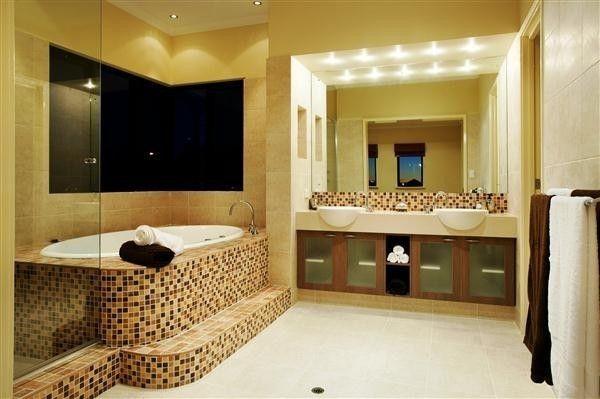 Baños con mosaicos Fotos de diseños Baños Pinterest - baos con mosaicos