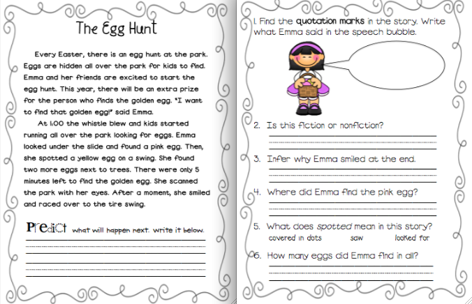 Easter Mini Pack Easter School Related Activities