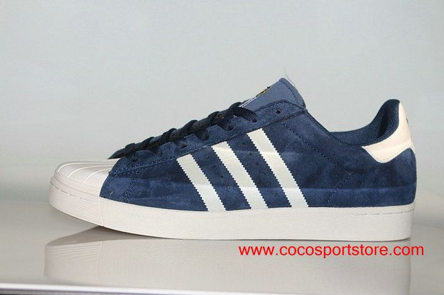 Adidas Superstar Suede D68720 Vulc ADV Dark blue White