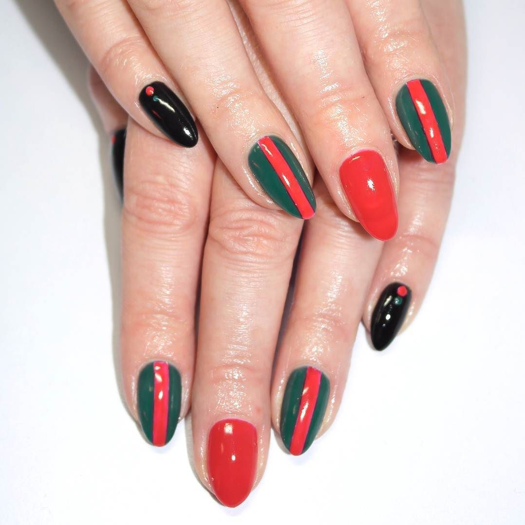 Gucci Bby Designer Nails 4 The Win Gel Polish By Nafamee With 2
