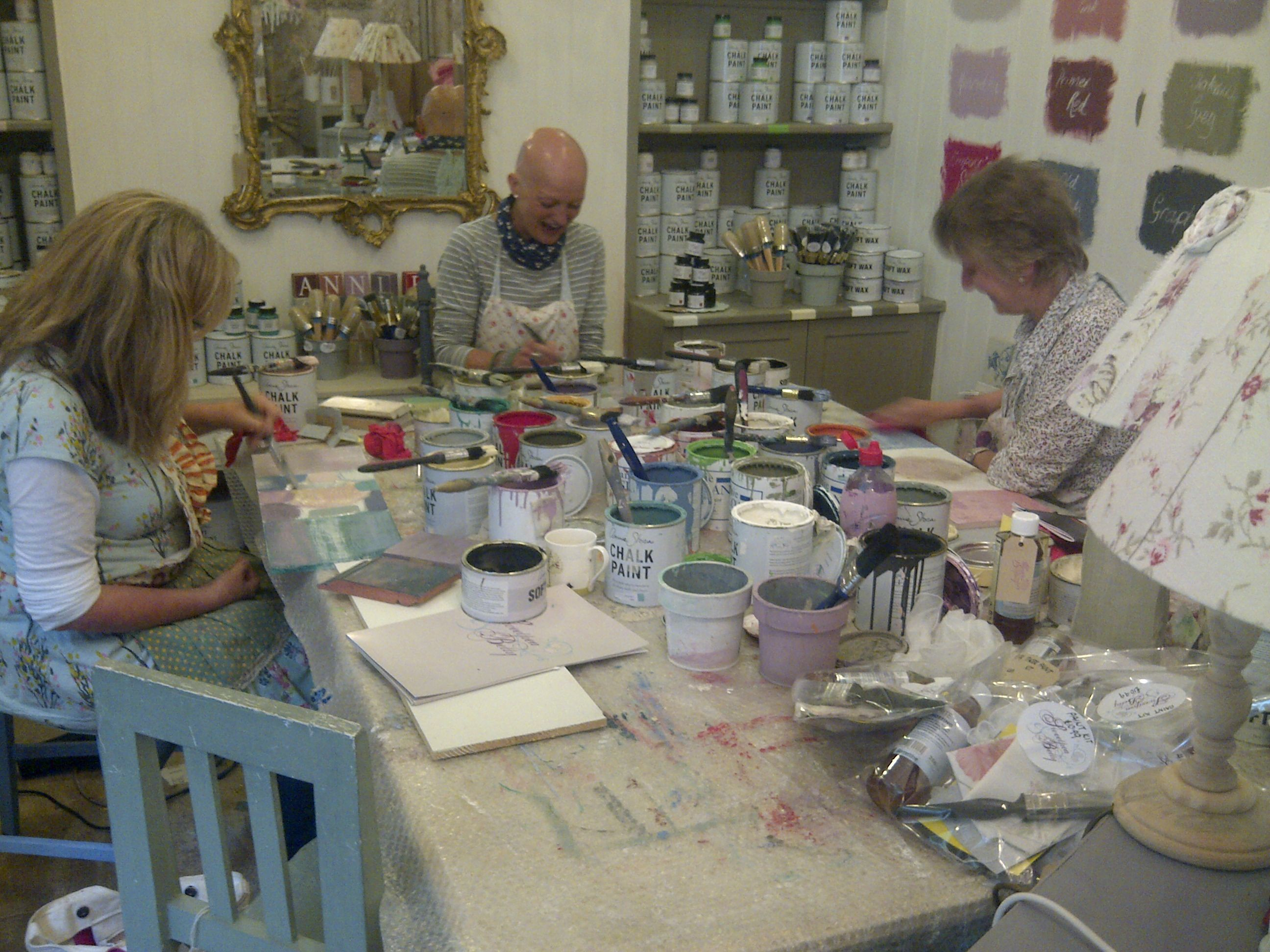 Upcycling Painting Workshop