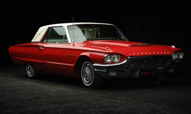 Ford Thunderbird Red 1964 Ford Thunderbird Coupe Red 1964 Ford