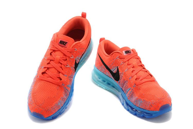 online store d01ed cd257 Where To Buy Men Nike Air Max Flyknit Bright Crimson Hyper Blue 620469 400 Nike  Air