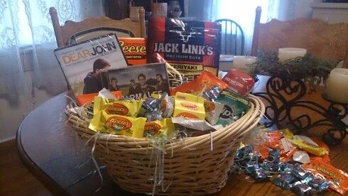 Easter basket idea for your boyfriend or husband you could even easter basket idea for your boyfriend or husband you could even included a movie that negle Image collections