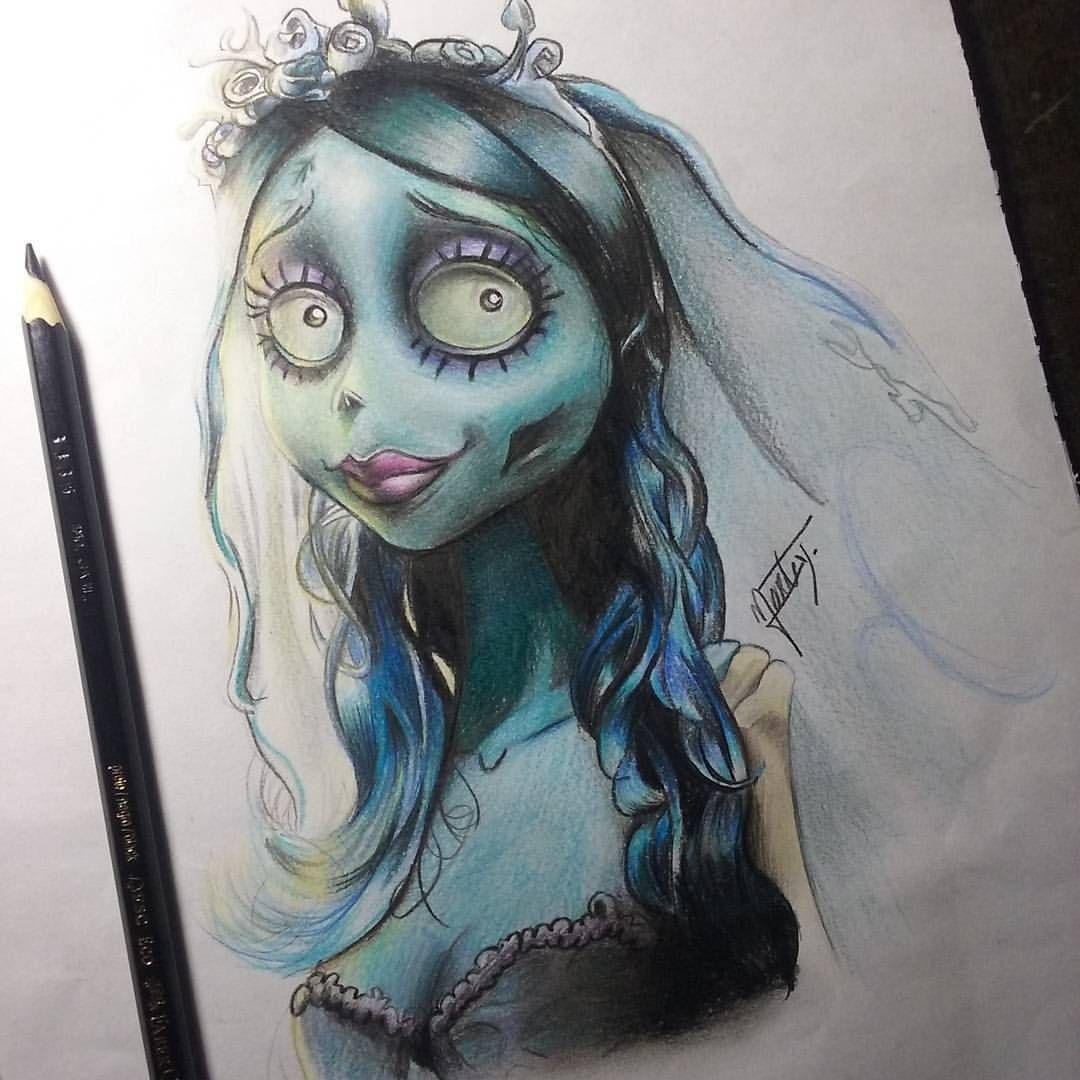 Drawing Corpse Bride In 2020 Zeichenvorlagen