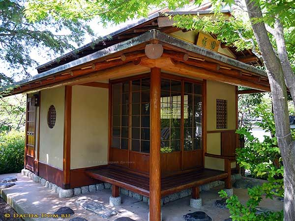 японский пруд и мостик Japanese Tea House Asian House Japanese Style House