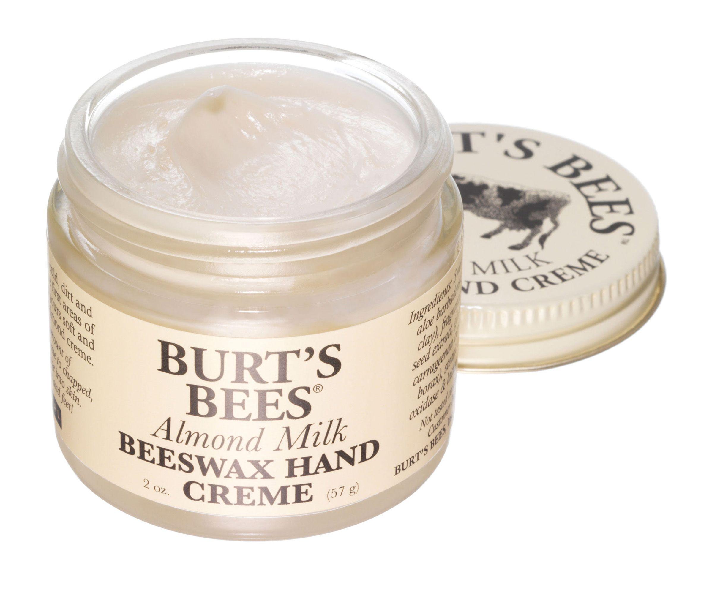 Almond milk beeswax hand cream hand cream cream lotion