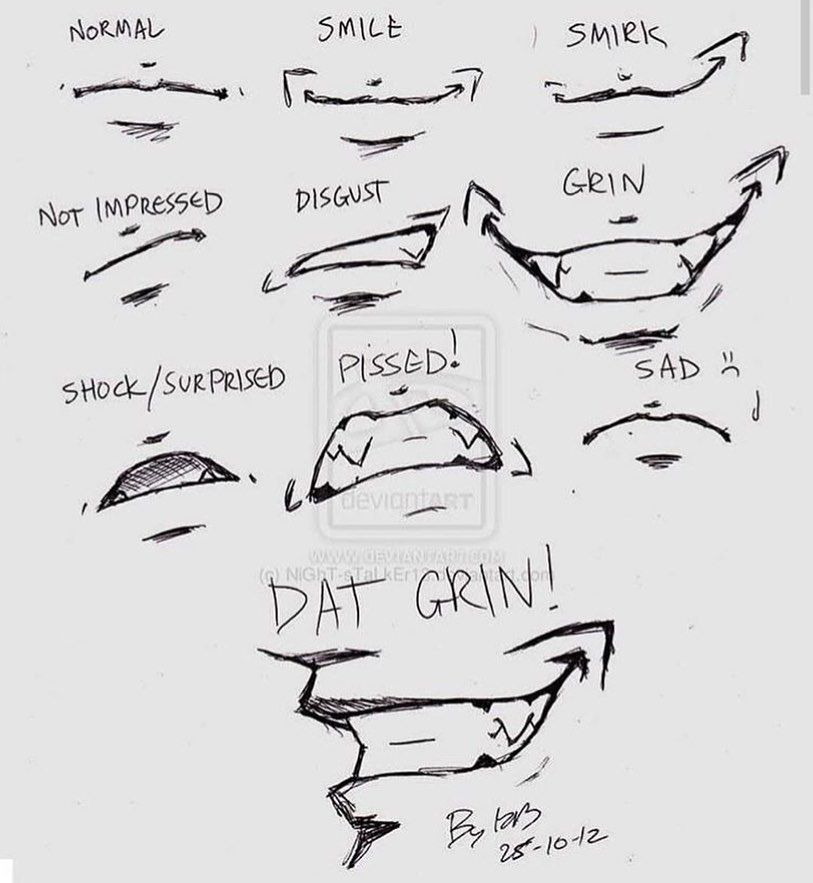 Mouth Drawing Reference Google Search Anime Drawings Tutorials Anime Drawings Sketches Drawing Expressions
