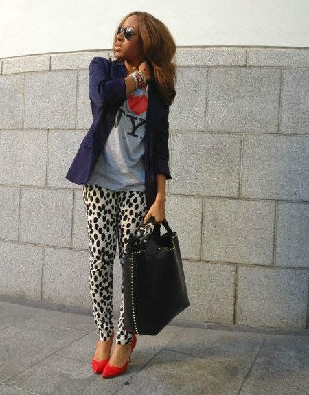 Claves Usar Pantalones Animal Print Forma Elegante 3 Graphic Tees