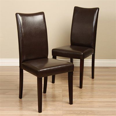 Warehouse of Tiffany 24091044+854 Shino BiCast Leather Dining Chair